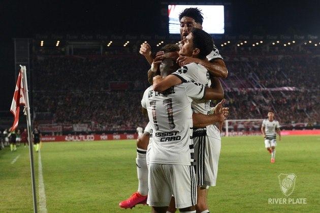 River Plate: 2º colocado do Campeonato Argentino - Entra diretamente na fase de grupos.