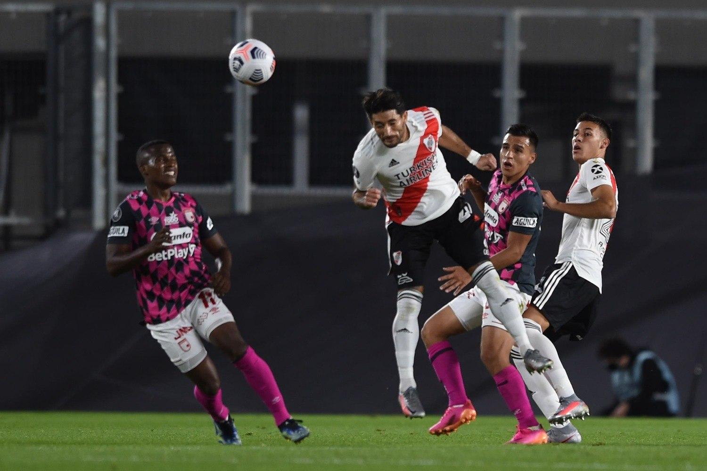 O River Plate mostrou enorme coração para conseguiu vencer a partida importantíssima