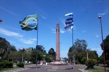 Fronteira entre Brasil e Uruguai