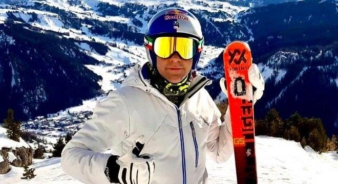 Rizzoli e o esqui na neve
