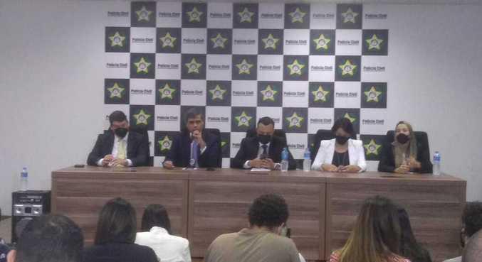 Investigadores falam sobre encerramento de inquérito em entrevista coletiva