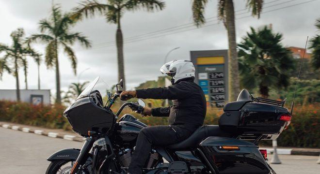 Road Glide Limited oferece bom espaço para bagagem / Guilherme Veloso/Harley-Davidson do Brasil