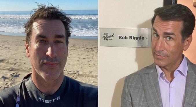 Ator Rob Riggle acusa a ex-mulher de espionar todas as suas conversas