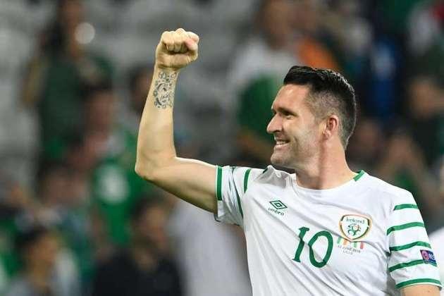 Robbie Keane: 68 gols em 146 jogos pela seleção da Irlanda.