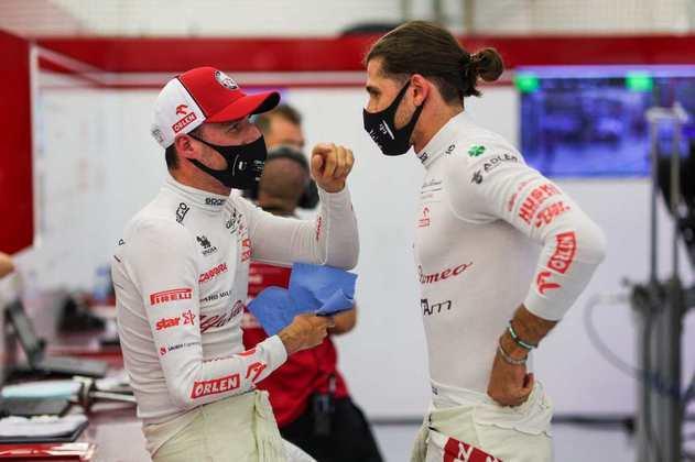 Robert Kubica e Antonio Giovinazzi foram os pilotos do primeiro treino livre.
