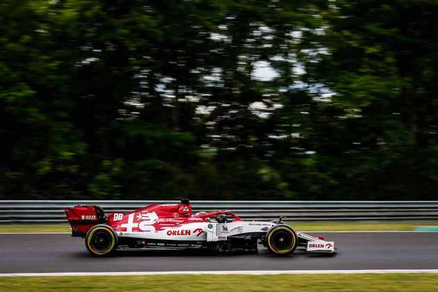 Robert Kubica participou do TL1 com a Alfa Romeo ficou em 19º