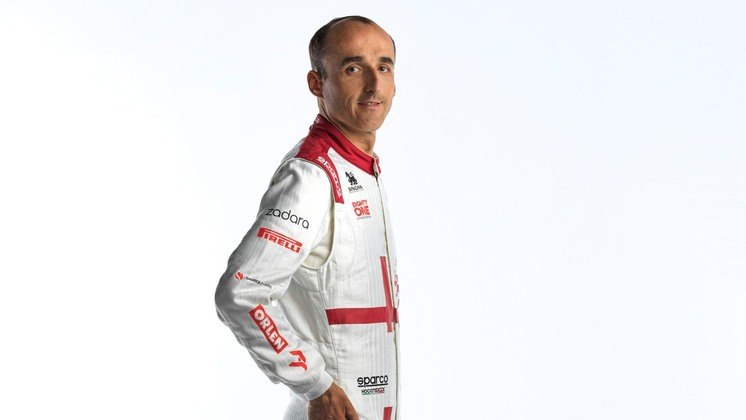 Robert Kubica segue como piloto reserva da Alfa Romeo, além de levar o principal patrocinador para o time