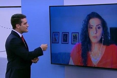 Roberta Boldrin em entrevista por Skype