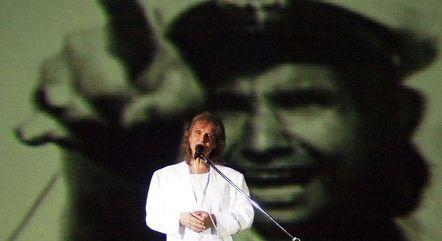 Show em Brasília em 2001