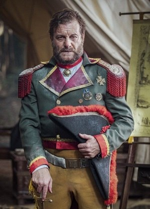 "Roberto Birindelli vive General Solano López em ""Nos Tempos do Imperador"""