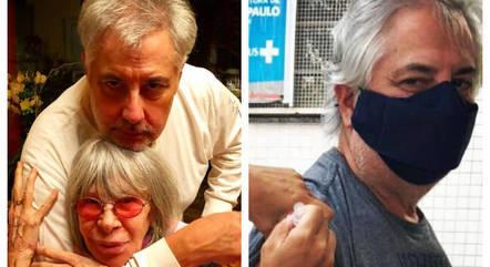 Rita e Roberto já receberam a 1ª dose da vacina