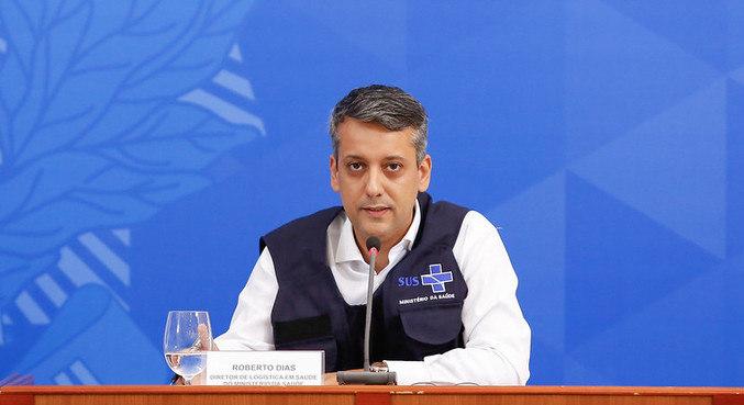 O ex-diretor do departamento de logística do Ministério da Saúde Roberto Ferreira Dias