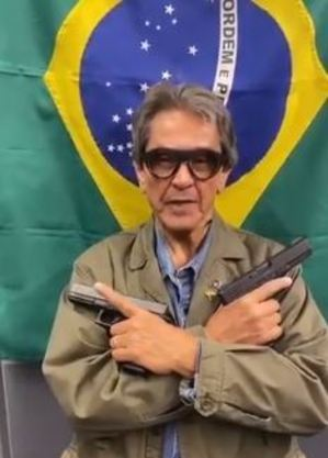 Roberto Jefferson em vídeo