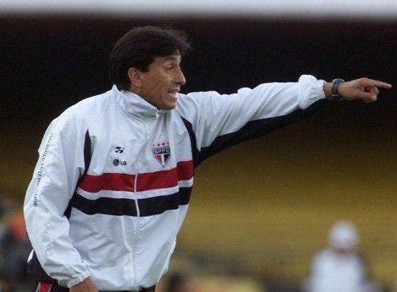 Roberto Rojas (2003) - O chileno esteve no comando do São Paulo em 52 jogos, com 28 triunfos, 13 empates e 11 derrotas.