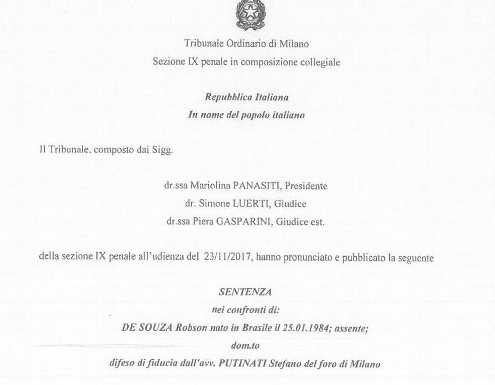 A Corte de Apelação de Milão analisará a condenação de nove anos por estupro