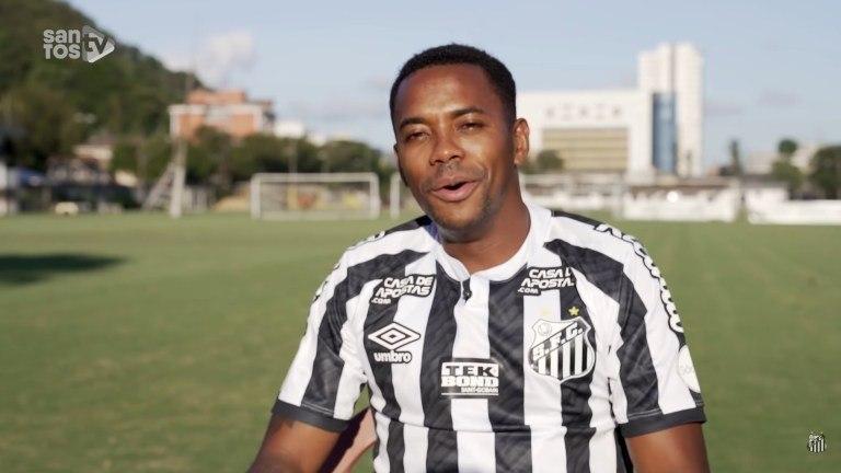 Robinho havia assinado contrato com o Santos. Mas foi suspenso pela acusação de estupro
