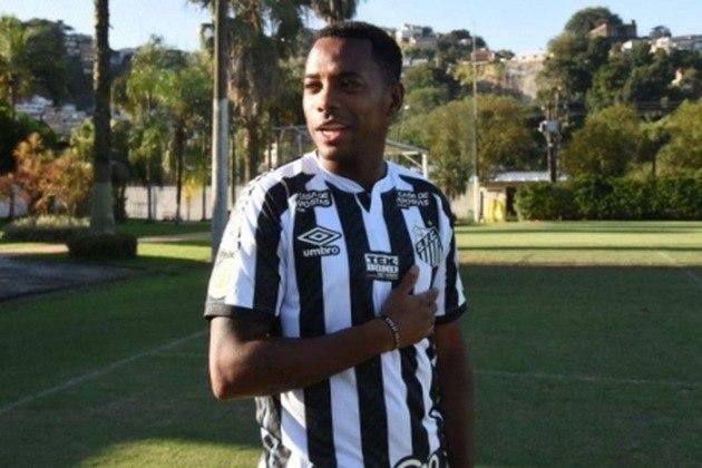 Robinho envolveu-se em uma grande polêmica recentemente. Foi contratado pelo Santos, mas, diante de um processo por violência sexual que corre na Itália, o contrato acabou suspenso e pode ser retomado na futuro. Ele tem valor de 500 mil euros (R$ 3,3 milhões).