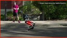 Robô bípede estabelece recorde de tempo em corrida de 5 quilômetros