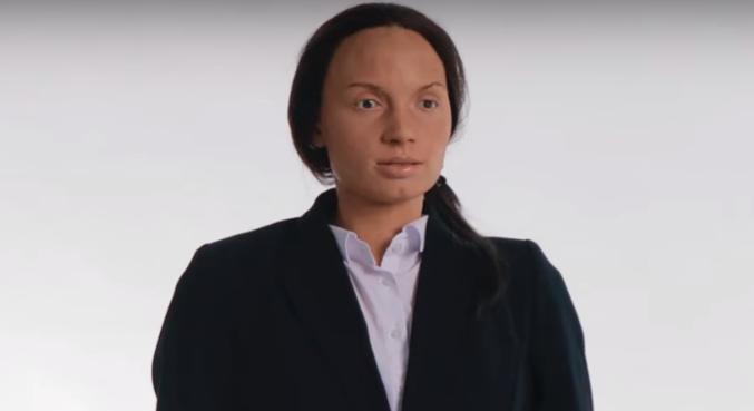 Robô imita expressões corporais de humanos
