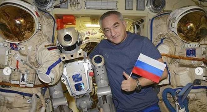 Robô russo retorna à Terra após ficar duas semanas abordo da ISS