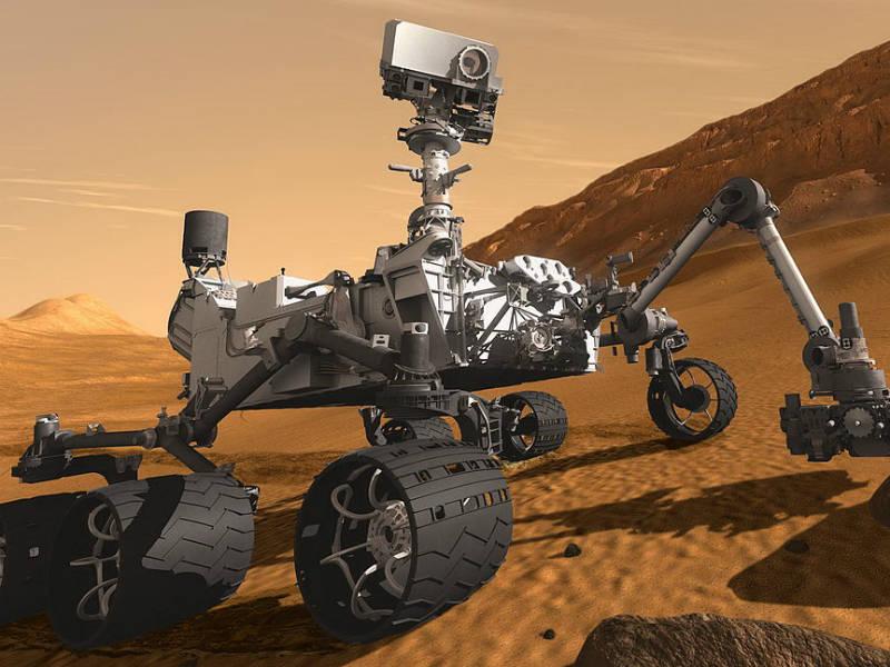Segundo o ufólogo, o registro foi feito pelo robô da NasaCuriosity, que chegou ao planeta vermelho no dia 6 de agosto de 2012