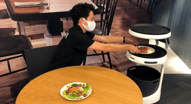robo restaurante
