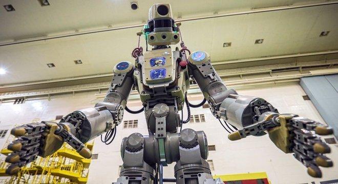 Fedor fez história como o primeiro robô enviado pela Rússia ao espaço – o problema é que ele não tinha muito o que fazer por lá