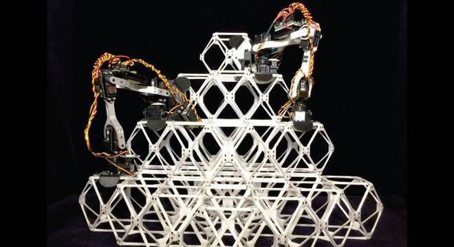 Robôs minúsculos trabalham de forma autônoma