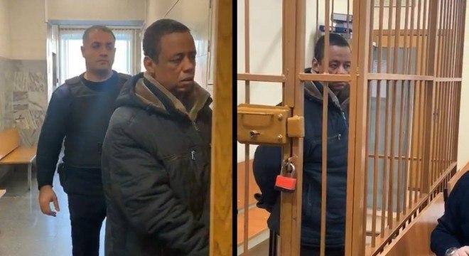 As imagens do inocente Robson, preso na Rússia, correram o mundo