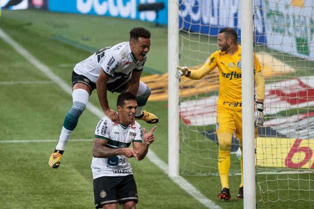 Robson - 29 anos - Coritiba - Atacante - Contrato até: 28/02/2021 - Autor de oito gols no Brasileirão, o Coritiba terá que decidir se irá ou não tentar uma renovação de contrato com Robson.