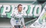 17- Coritiba - 33,3%16 jogos / 4 vitórias / 4 empates / 8 derrotas