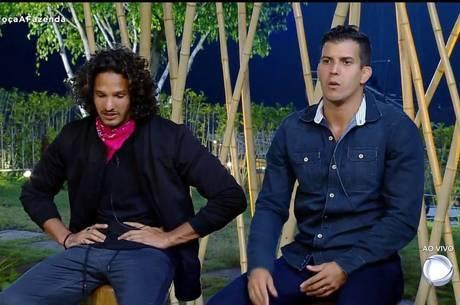 Felipe Sertanejo e João Zoli estão na Roça
