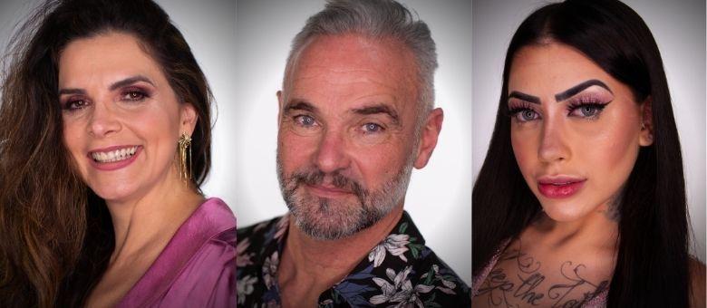 Luiza, Mateus e Mirella formam a Roça desta semana