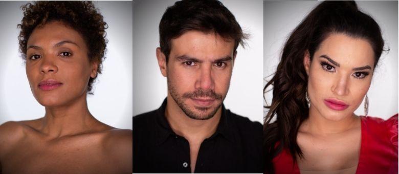 Lidi, Mariano e Raissa formam a Roça desta semana