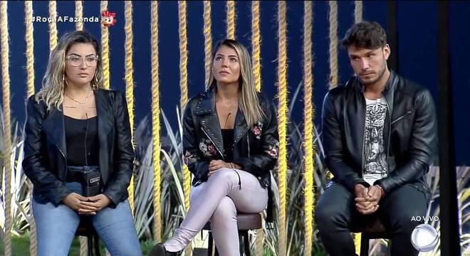 A décima Roça de A Fazenda 11 foi formada por Thayse, Hari e Lucas Viana