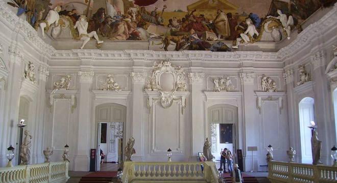 O Rococó na Wuerzburger Residenz