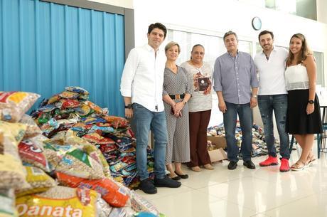 Alimentos foram entregues ao Fundo Social de Solidariedade de Itu