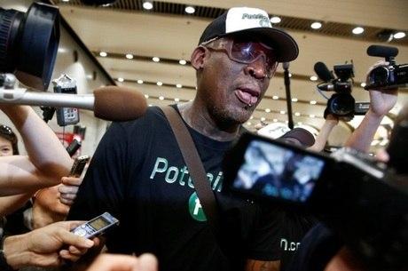 Rodman é um dos poucos ocidentais que visitaram país