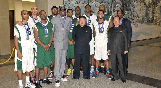 Em 2014, Rodman levou mais jogadores de basquete da NBA para a Coreia do Norte e se encontrarem com King Jong-un