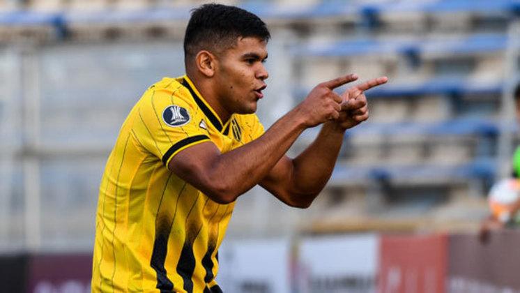 Rodney Redes é um jogador paraguaio de 20 anos, que foi revelado pelo Guarani, e em 2020 defendeu o Austin, na MLS.