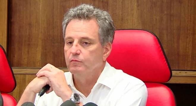 Rodolfo Landim mandou 62 funcionários do Flamengo embora
