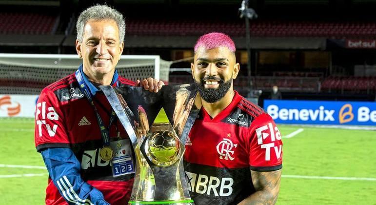 O presidente do Flamengo, Rodolfo Landim, decidiu. Não punirá Gabigol