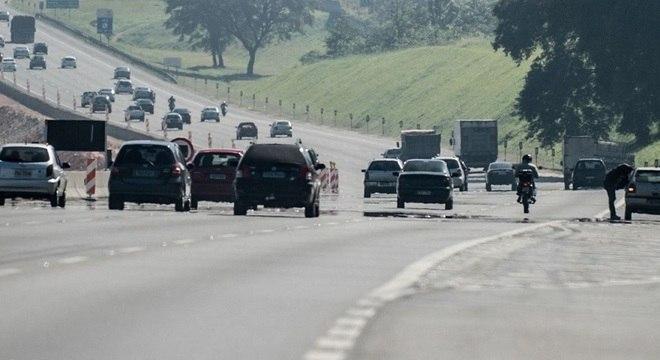 Fluxo é intenso em muitas estradas do estado