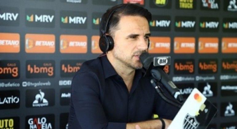 Rodrigo Caetano fala que o Galo precisa fazer caixa com a venda de atletas