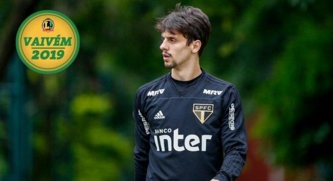 Rodrigo Caio é cria das categorias de base do São Paulo