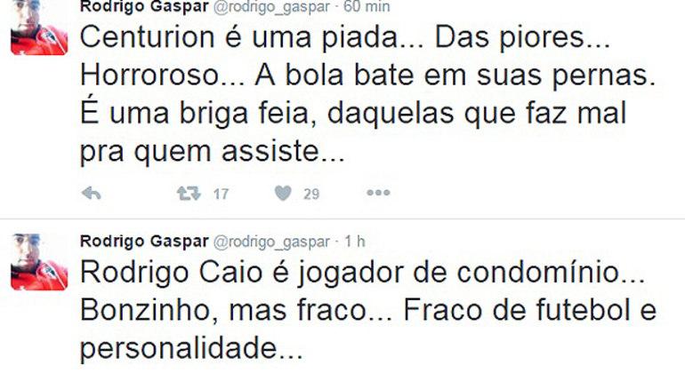 O ex-assessor, depois diretor de Leco, humilhou Rodrigo Caio publicamente