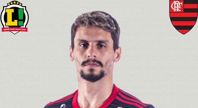 RODRIGO CAIO - 4,5 - A tranquilidade vivida pela defesa do Flamengo no primeiro tempo deu lugar aos velhos problemas defensivos na etapa final. Rodrigo Caio, que costuma ser seguro no combate, sofreu com os avanços tricolores.