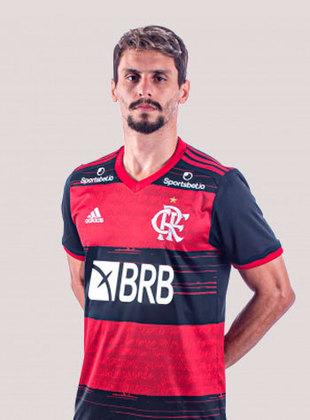 RODRIGO CAIO - 6,0 - Protegeu bem o goleiro Gabriel Batista e não teve influência no placar. Ainda roubou bolas.