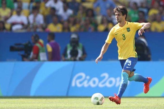 Rodrigo Caio - O zagueiro esteve no time do Brasil que ganhou a medalha de ouro inédita na Olimpíada do Rio-2016. Venceu a Alemanha nos pênaltis por 5 a 4 após empate de 1 a 1 no tempo normal.