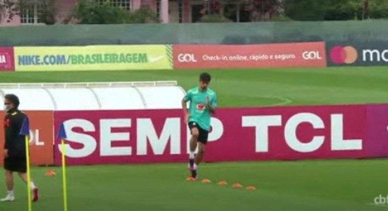 Rodrigo Caio - treino Seleção